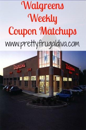 Walgreens Weekly Coupon Matchups
