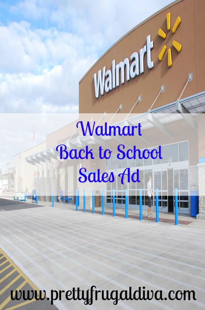 Walmart Back to School 8/1- 8/15