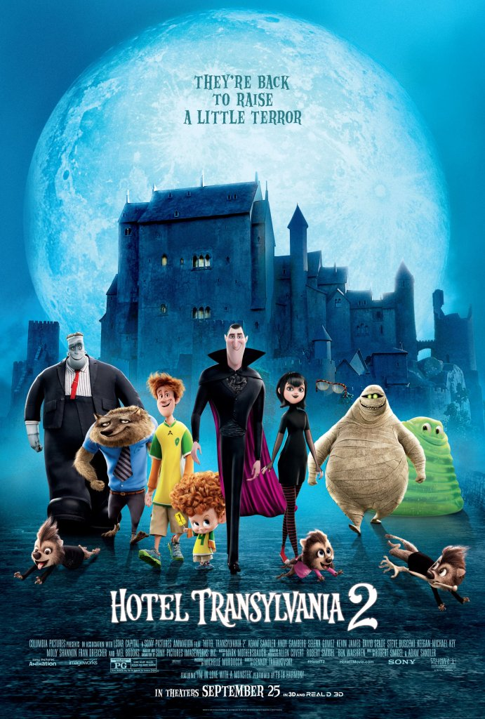 Hotel Transylvania 2 September 25 + Giveaway