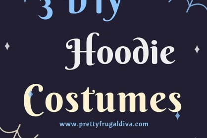 3 DIY Hoodie Costumes