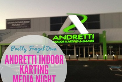 Andretti indoor karting media night in marrietta