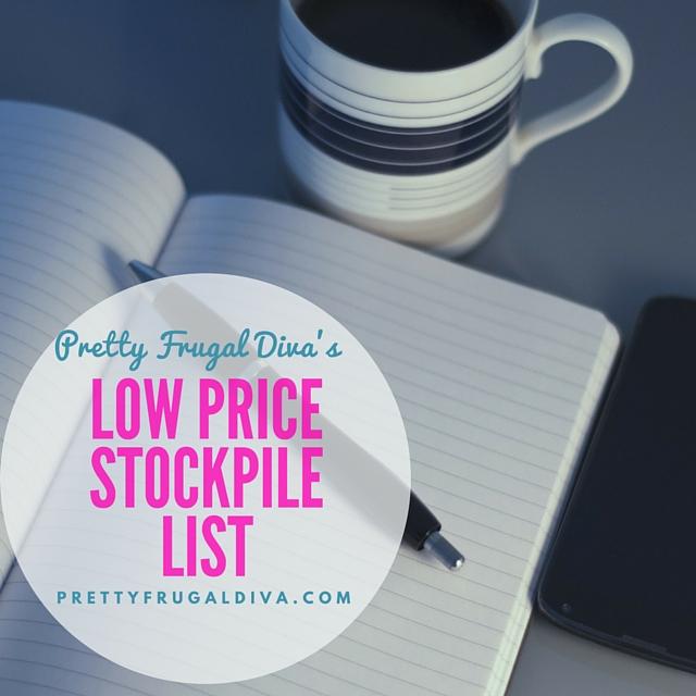 low price stockpile list