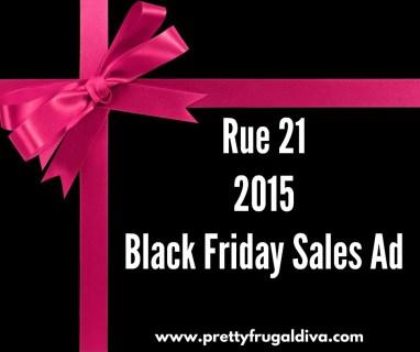 2015 Rue 21 Black Friday