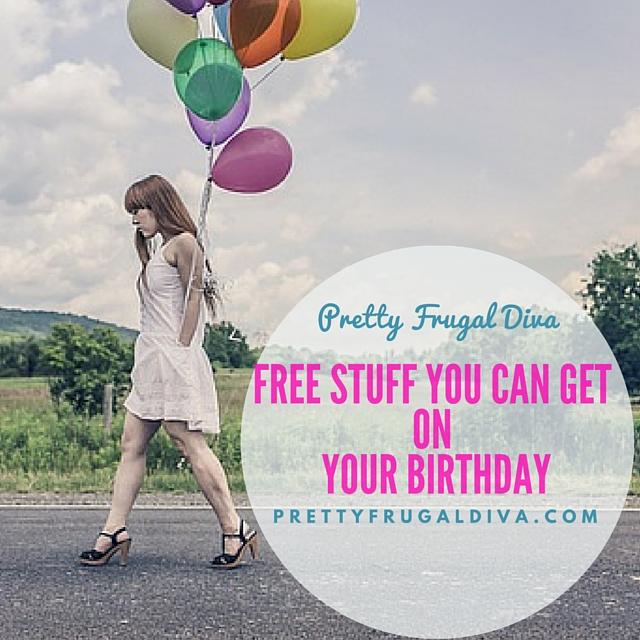 Huge Birthday Freebies List