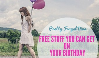 Huge Birthday Freebies List