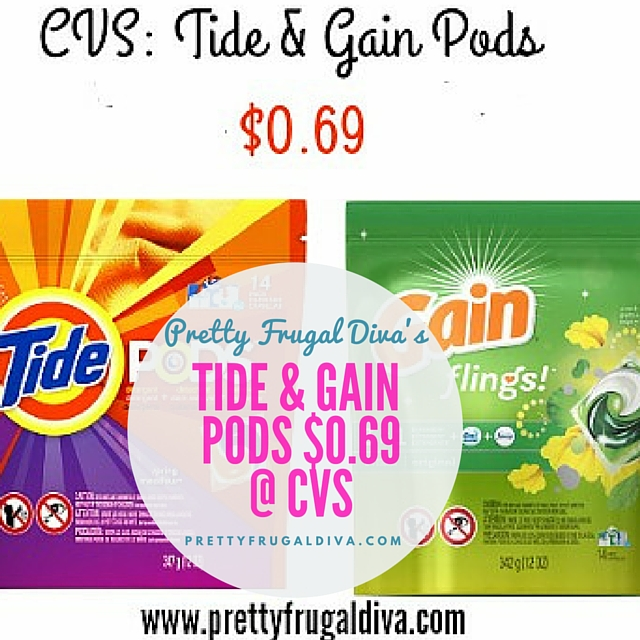 CVS Deal : Tide and Gain Pods $0.69