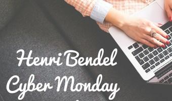 2015 Henri Bendel Cyber Monday