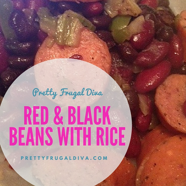 Red and Black Beans with Rice