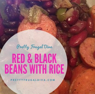 Red & Black Beans with Rice