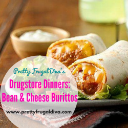 drugstore dinners bean and cheese burrito