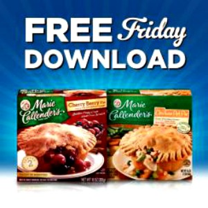 Kroger Friday Freebie Marie Callendar Pie