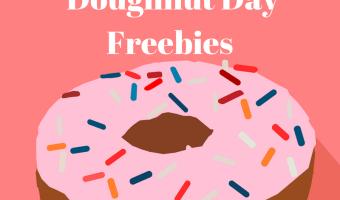 2017 National Doughnut Day Freebies