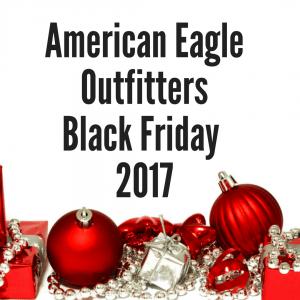 AEO Black Friday 2017