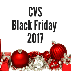 CVS Black Friday 2017