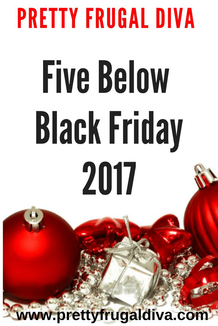Five Below Black Friday Ad 2017