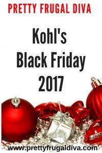 Kohls Black Friday