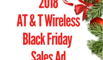 2018 AT&T Wireless Black Friday Sales Ad