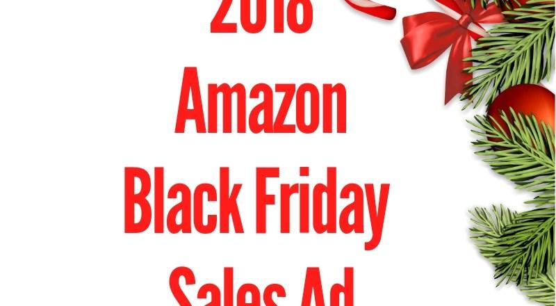 2018 Amazon Black Friday Sales Ad