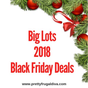 2018 Big Lots Black Friday Sales Ad