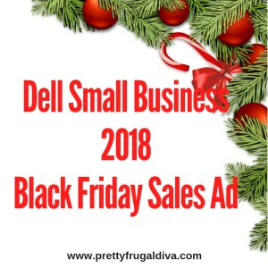 2018 Dell Small Busines Black Friday Sales Ad