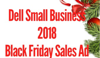 2018 Dell Small Business Black Friday