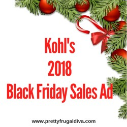 2018 Kohl's Black Friday Sales Ad