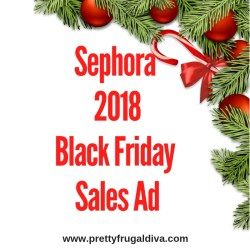 2018 Sephora Black Friday Sales Ad