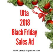 2018 Ulta Black Friday Sale Ad