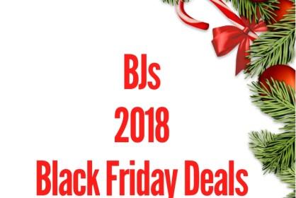 BJs 2018 Black Friday Deal