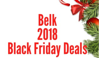 2018 Belk Black Friday Sales Ad