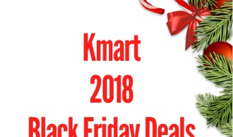 2018 Kmart Black Friday Sales Ad