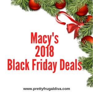 Macys 2018 Black Friday Deal