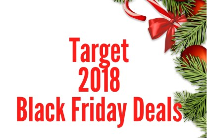 Target 2018 Black Friday Deal