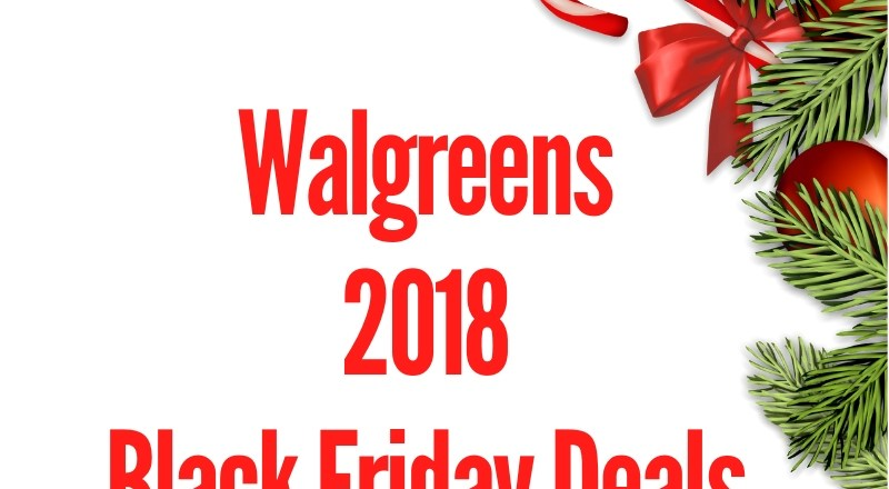 Walgreens 2018 Black Friday Deal