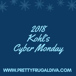 2018 Kohls Cyber Monday