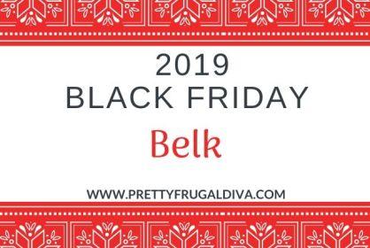 Belk Black Friday 2019