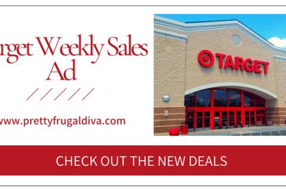 Target Weekly Sales Ad