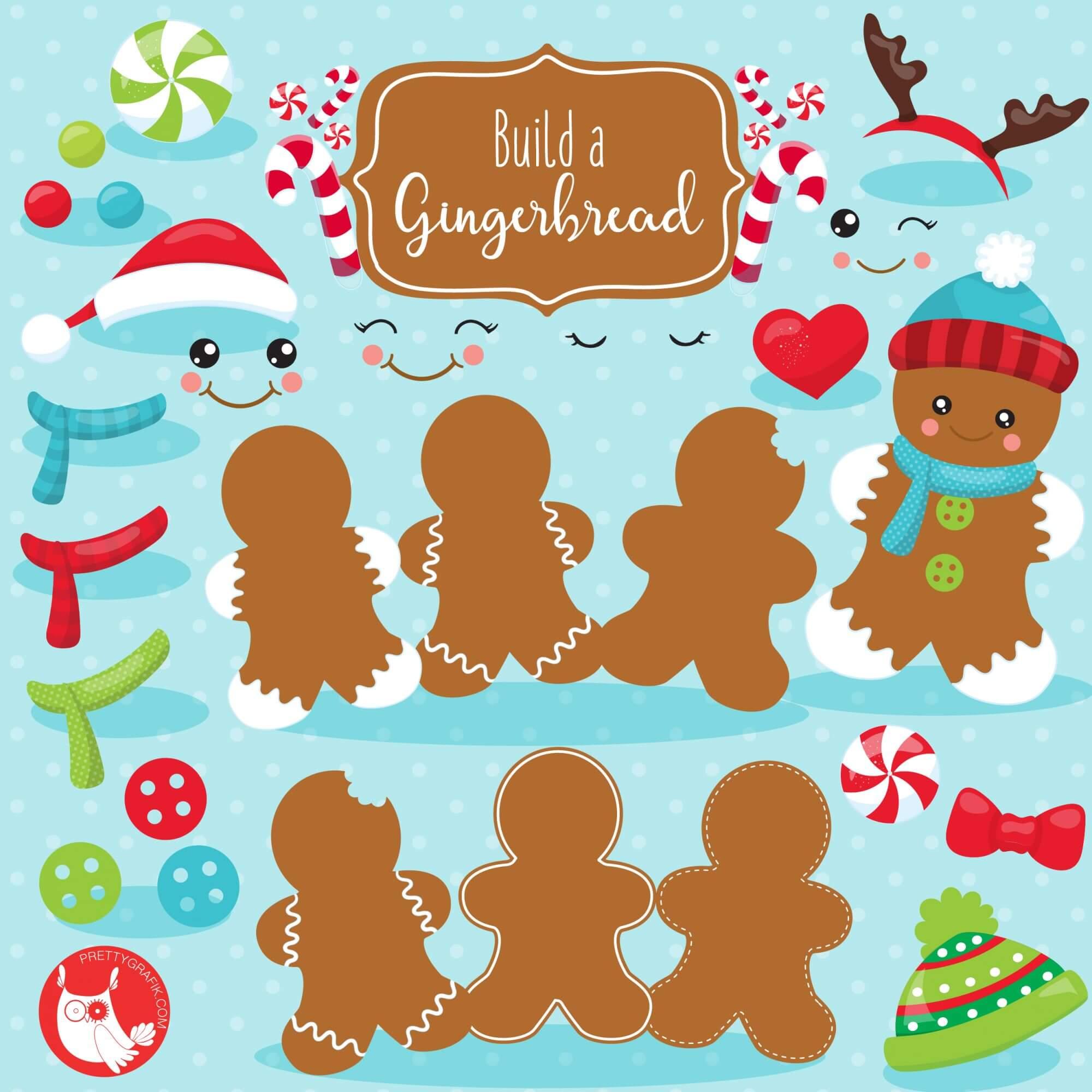 Build A Gingerbread Clipart