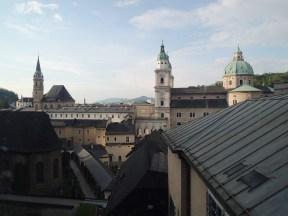 Salzburg rooftops