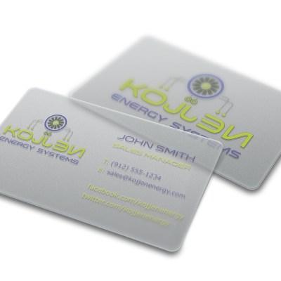 kojjen business card design
