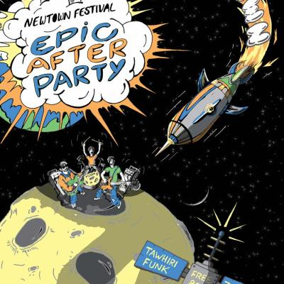 Newtown Festival poster 2017