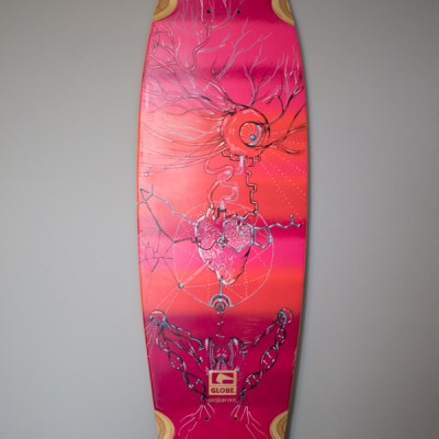 'The doors of Perception' longboard