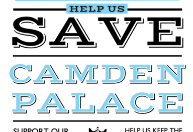 'Camden Palace Hotel' Poster design