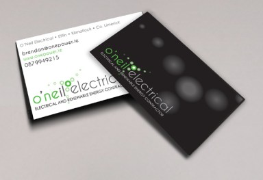 O' Neil Electrical - Logo design and Branding
