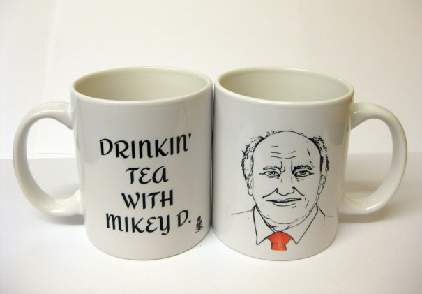 Drinkin' tea with Mikey D