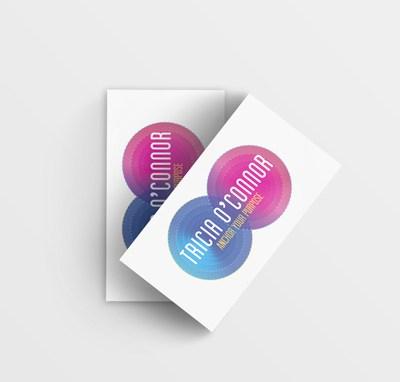 'Tricia O'Connor Energy Therapist' logo design
