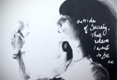 'Patti Smith' original screenprint
