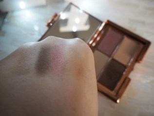 Rosie Huntington-Whitely Rosie for Autograph Marks & Spencer Eyeshadow Palette Copper Gold Rush Review & Swatch