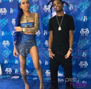 A Look Inside Bella Bo's Shades of Blue Mixtape Release Party