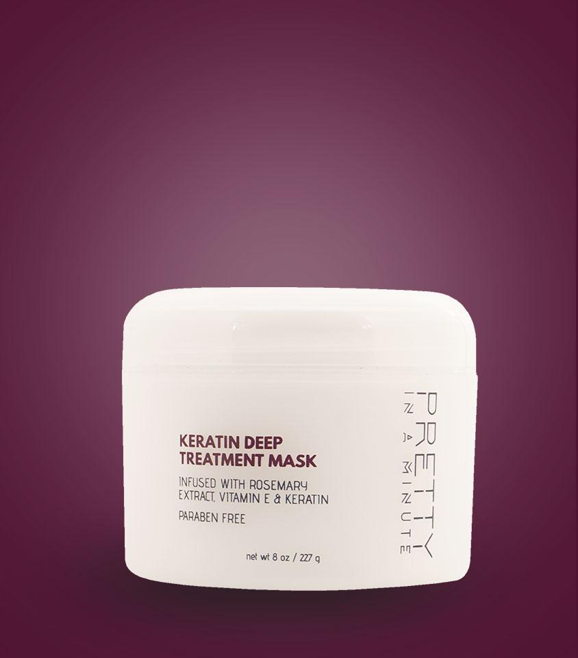 Keratin Deep Treatment Mask 8 oz.